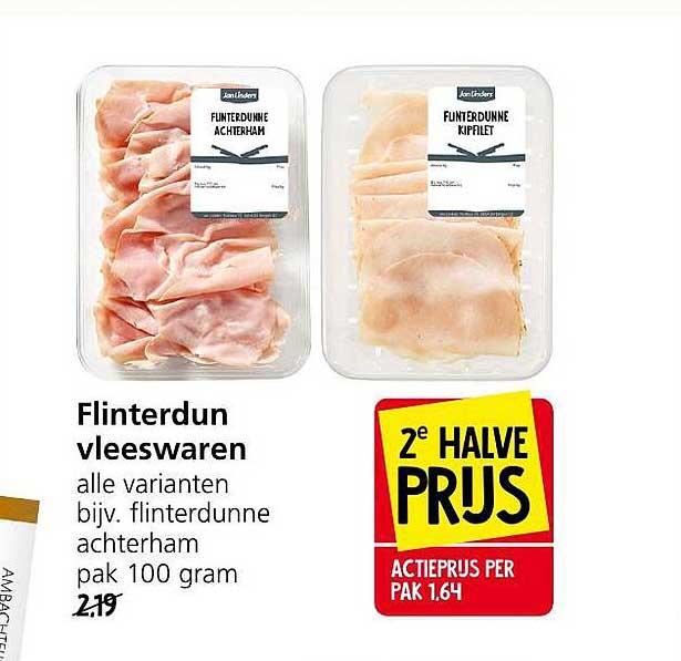 Jan Linders Flinterdun Vleeswaren