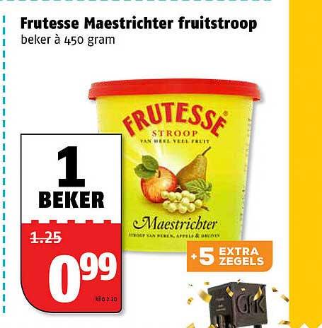 Poiesz Frutesse Maestrichter Fruitstroop