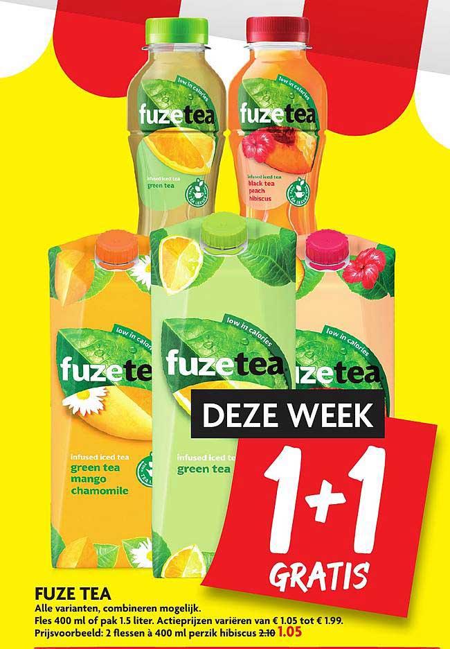 DekaMarkt Fuze Tea 1+1 Gratis