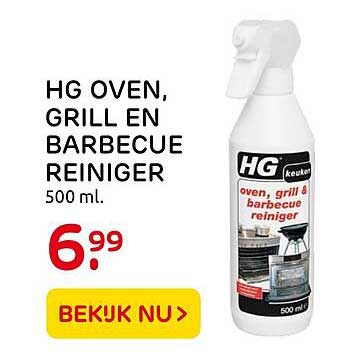 Praxis HG Oven, Grill En Barbecue Reiniger