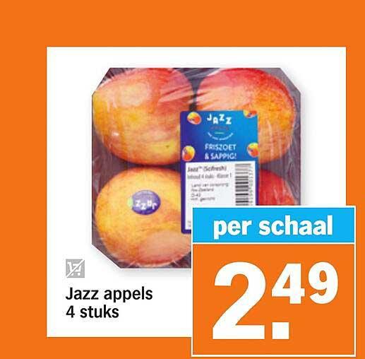 Albert Heijn Jazz Appels 4 Stuks