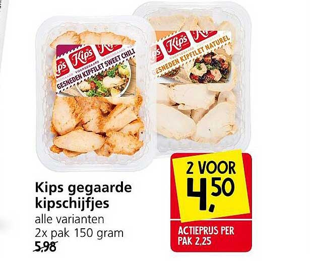 Jan Linders Kips Gegaarde Kipschijfjes