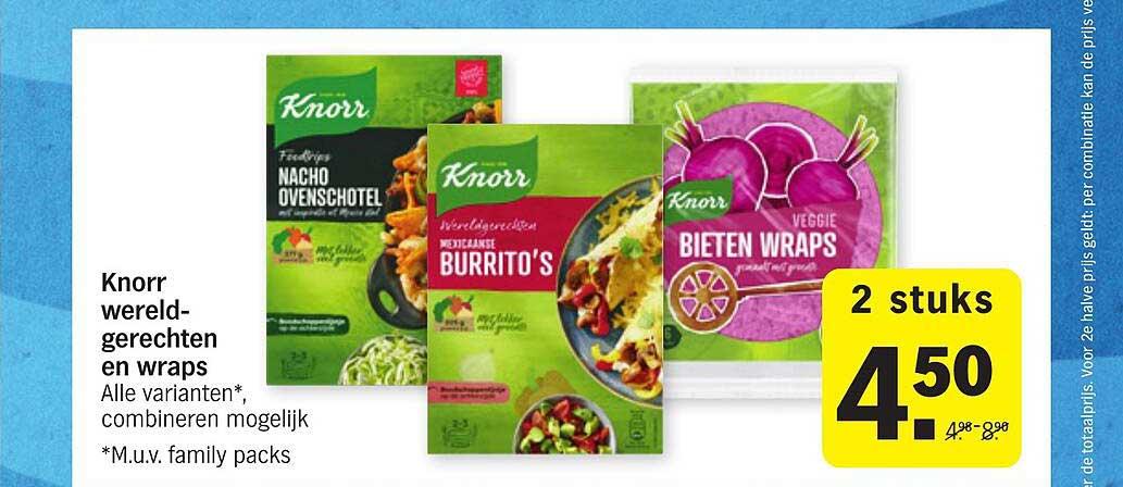 Albert Heijn Knorr Wereldgerechten En Wraps
