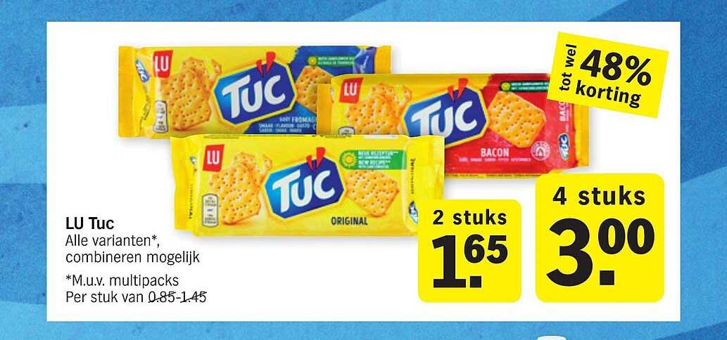 Albert Heijn Lu Tuc Tot Wel 48% Korting