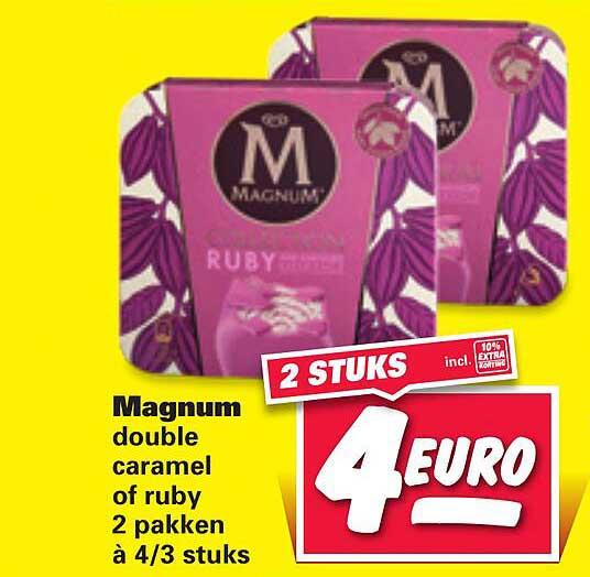 Nettorama Magnum Double Caramel Of Ruby
