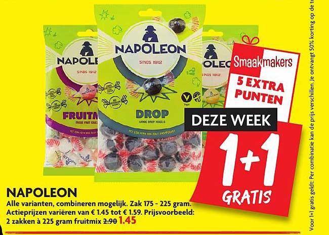 DekaMarkt Napoleon 1+1 Gratis