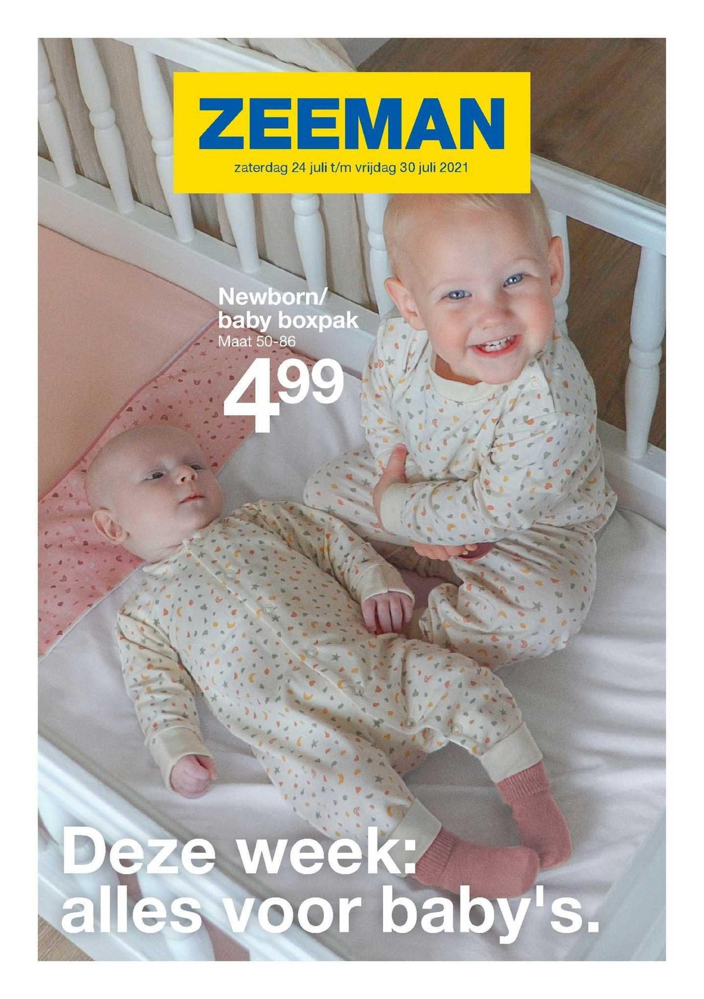 Zeeman Newborn- Baby Boxpak