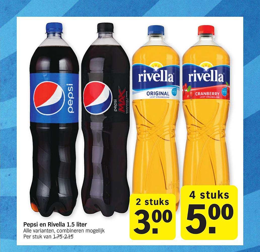 Albert Heijn Pepsi En Rivella 1.5 Liter