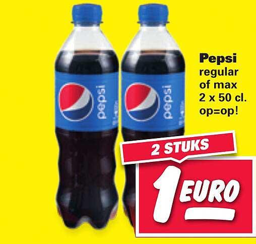 Nettorama Pepsi Regular Of Max