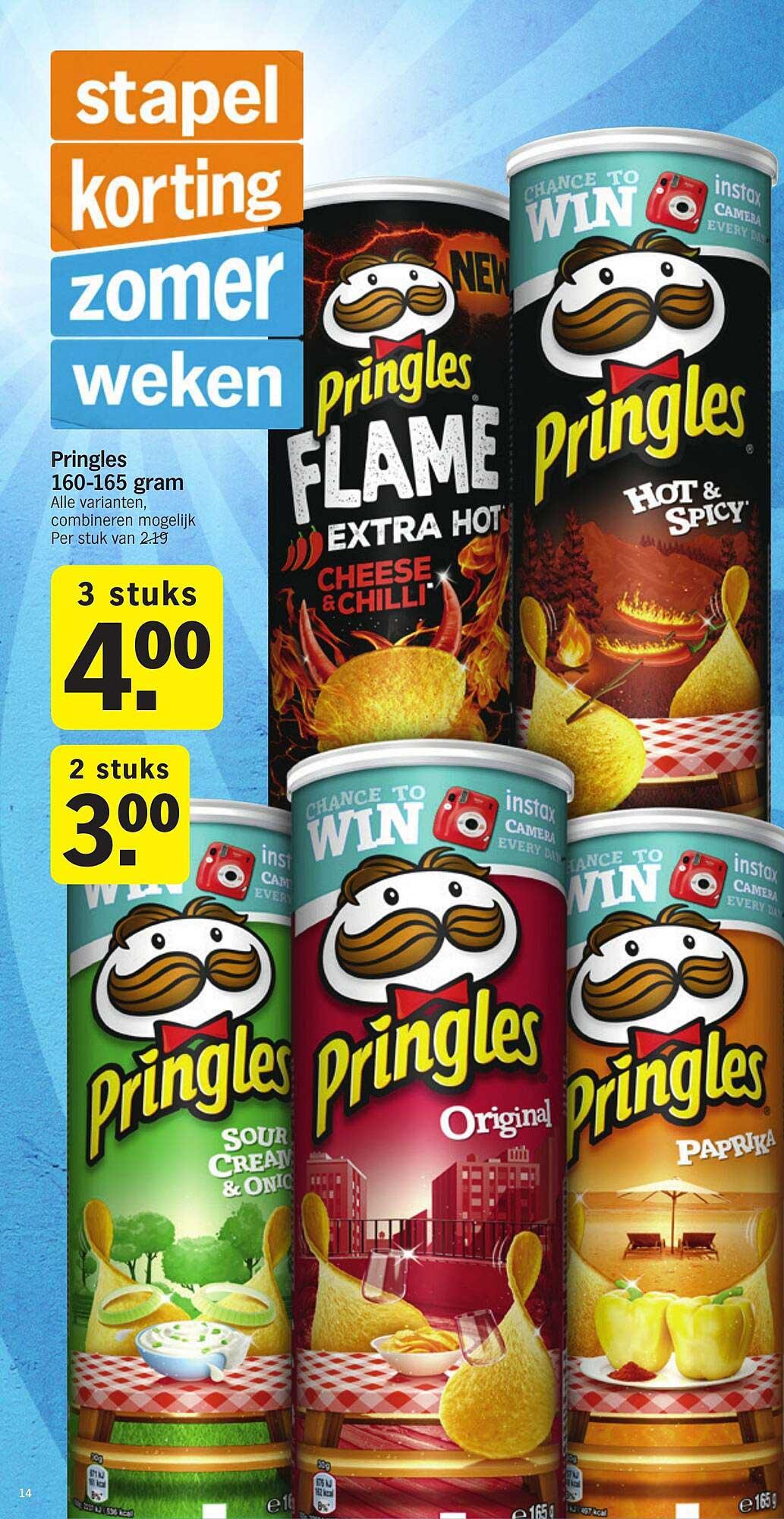 Albert Heijn Pringles 160-165 Gram