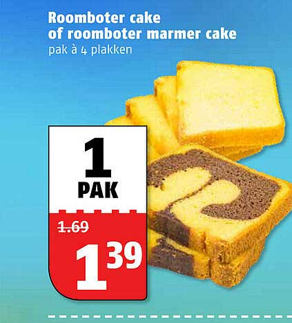 Poiesz Roomboter Cake Of Roomboter Marmer Cake