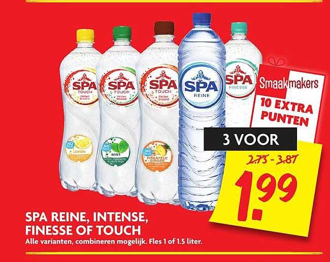 DekaMarkt Spa Reine, Intense, Finesse Of Touch
