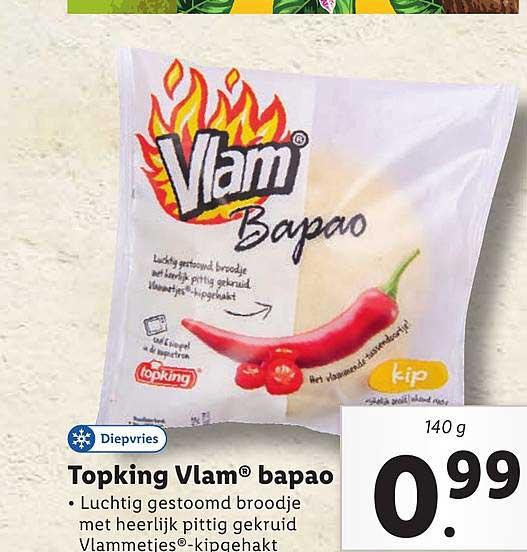 Lidl Vlam Topking Vlam® Bapao
