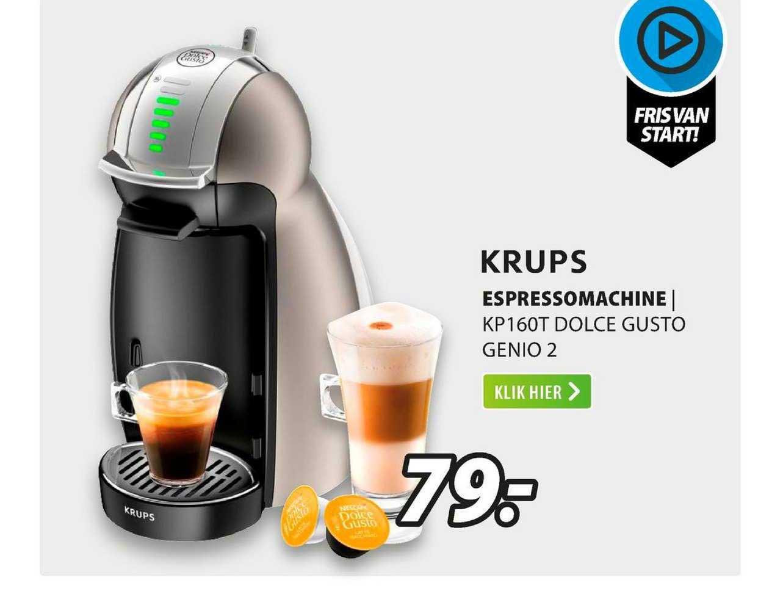 Expert Krups Espressomachine   KP160T Dolce Gusto Genio 2