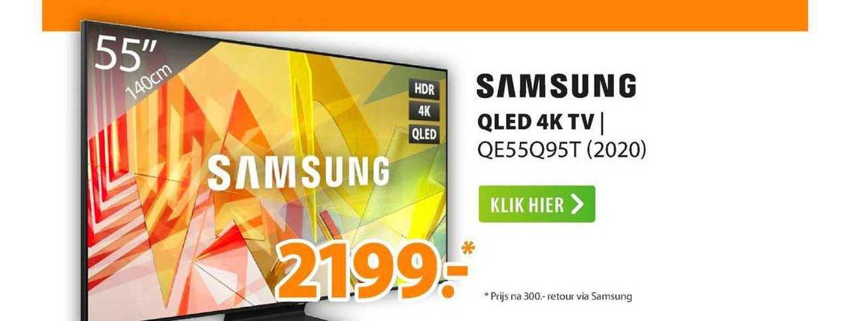 Expert Samsung QLED 4K TV   QE55Q95T (2020)