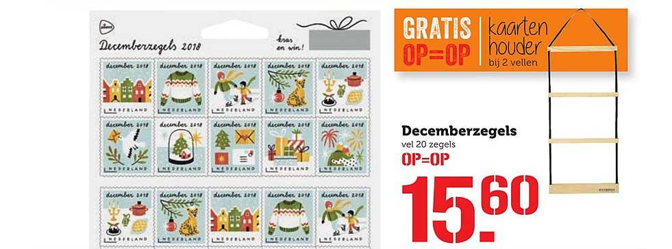 Coop Decemberzegels