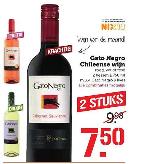 Coop Gato Negro Chileense Wijn