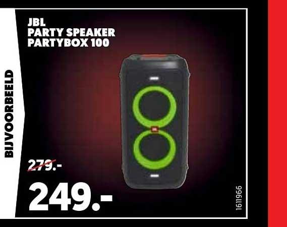 Mediamarkt JBL Party Speaker Partybox 100