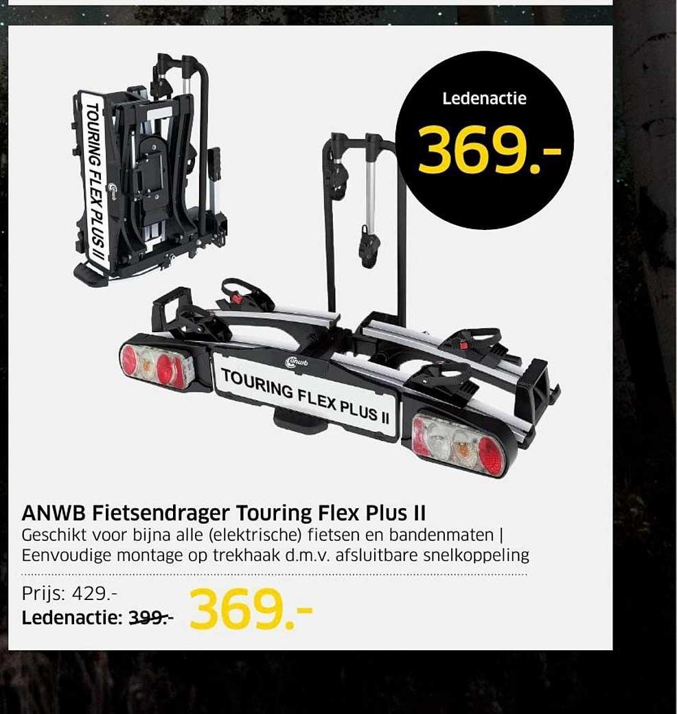ANWB ANWB Fietsendrager Touring Flex Plus II
