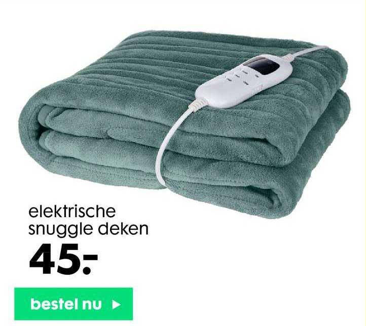 HEMA Elektrische Snuggle Deken