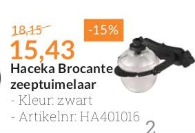 Sanitairwinkel Haceka Brocante Zeeptuimelaar: -15%