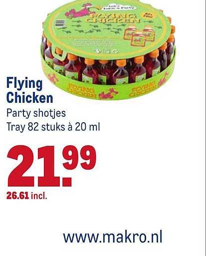 Makro Flying Chicken