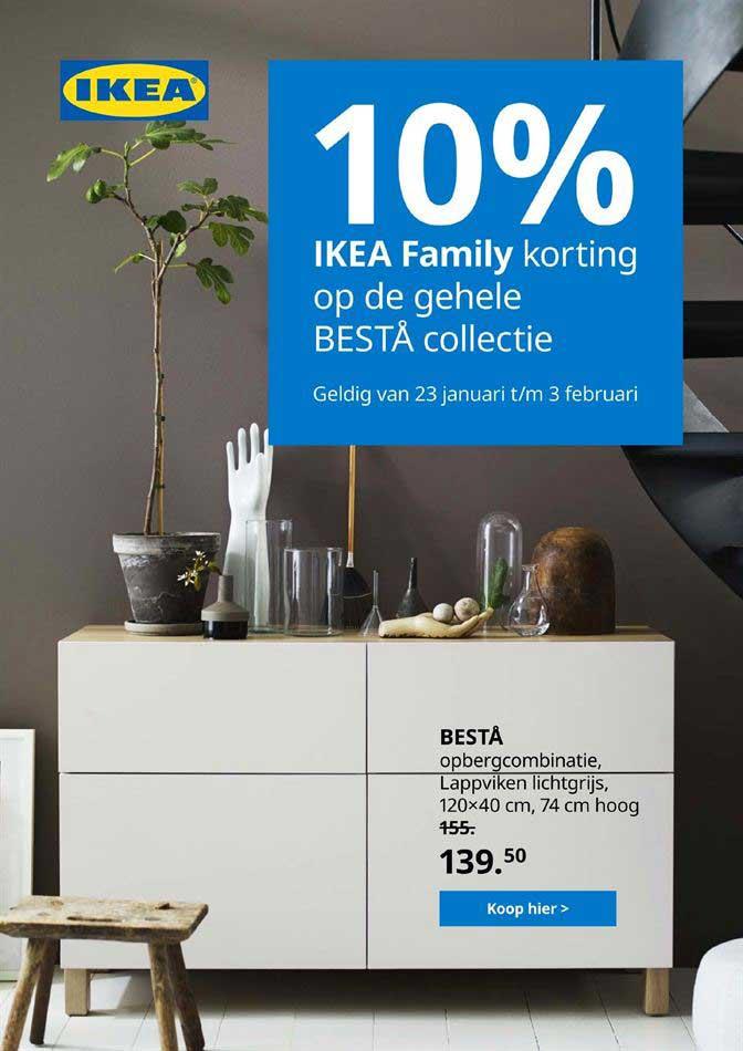 IKEA 10% IKEA Family Korting Op De Gehele BESTA Collectie