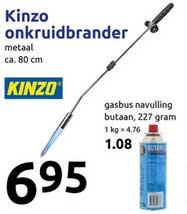 Action Kinzo Onkruidbrander
