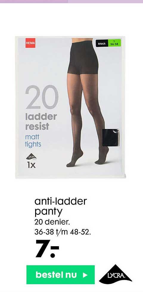 HEMA Anti-Ladder Panty