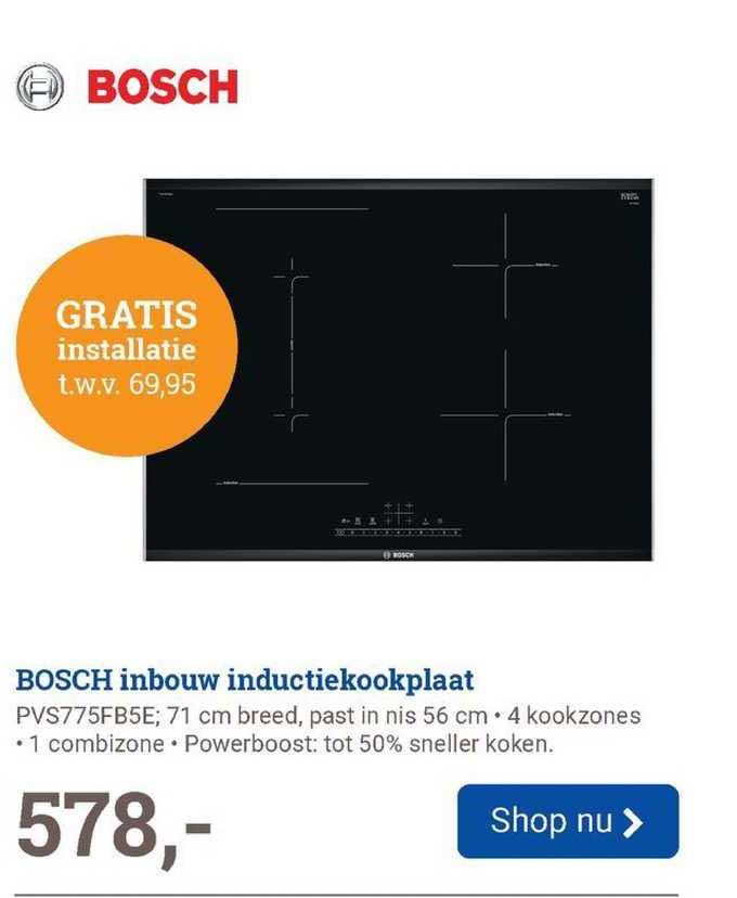 BCC Bosch Inbouw Inductiekookplaat PVS775FB5E