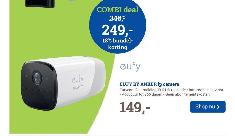 BCC Eufy By Anker IP Camera Eufycam 2 Uitbreiding