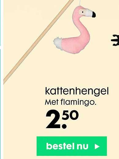 HEMA Kattenhengel Met Flamingo