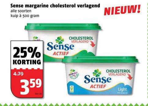 Poiesz Sense Margarine Cholesterol Verlagend