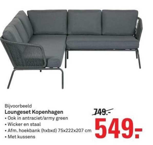 Karwei Loungeset Kopenhagen