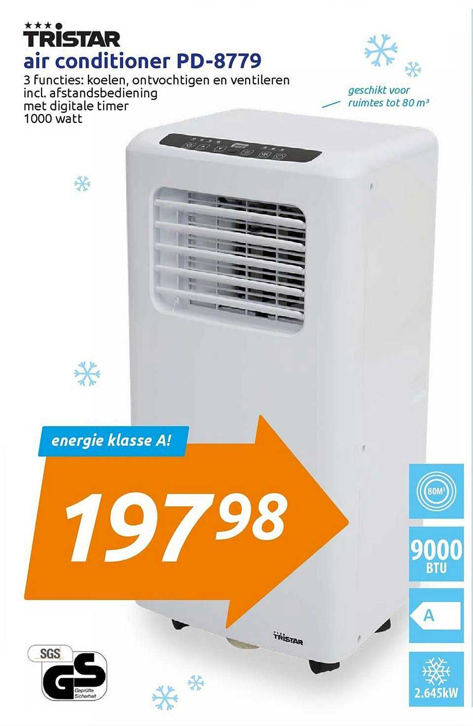 Action Air Conditioner PD 8779