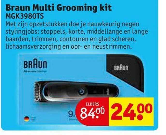 Kruidvat Braun Multi Grooming Kit