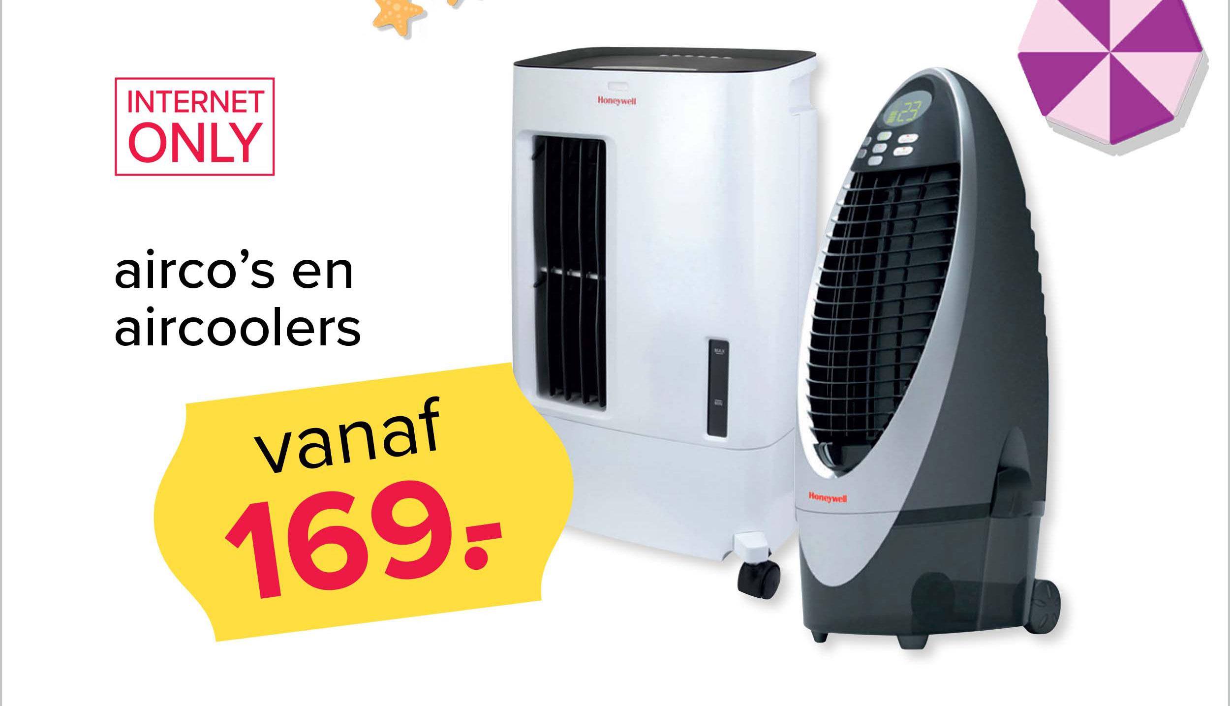 Kijkshop Airco's En Aircoolers: Vanaf €169,-
