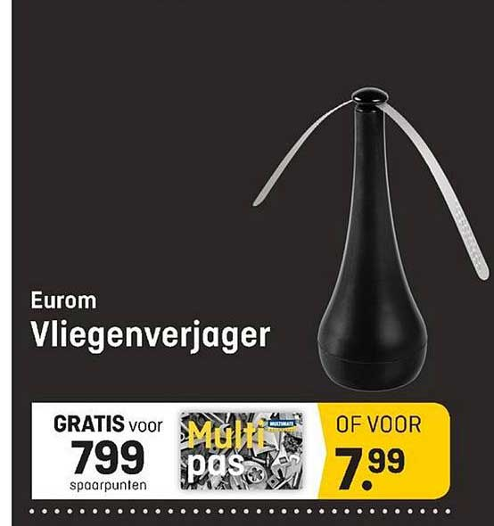 Multimate Eurom Vliegenverjager