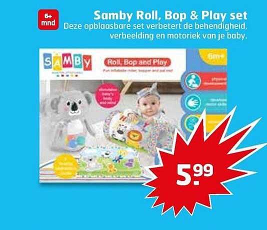 Trekpleister Samby Roll, Bop & Play Set