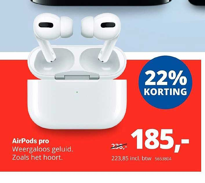 Office Centre AirPods Pro 22% Korting