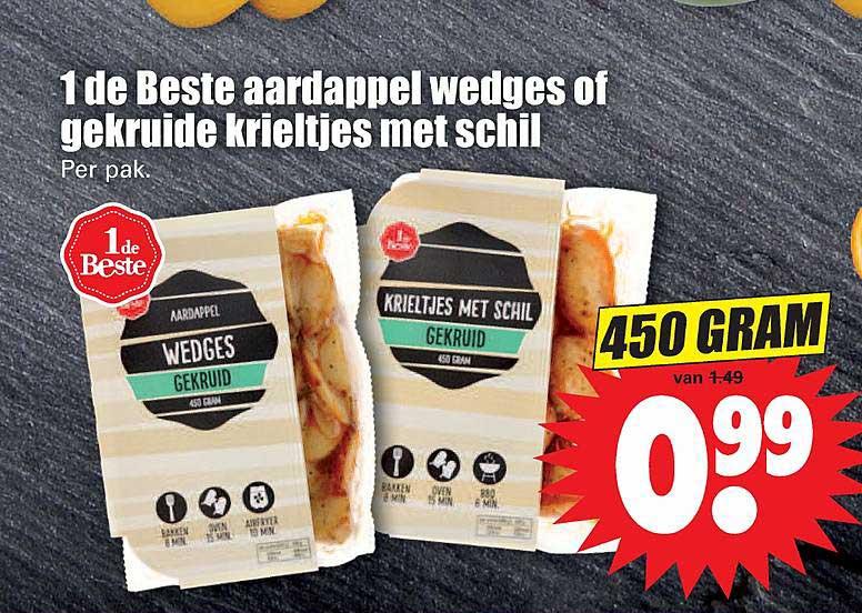 Dirk 1 De Beste Aardappel Wedges Of Gekruid Krieltjes Met Schil