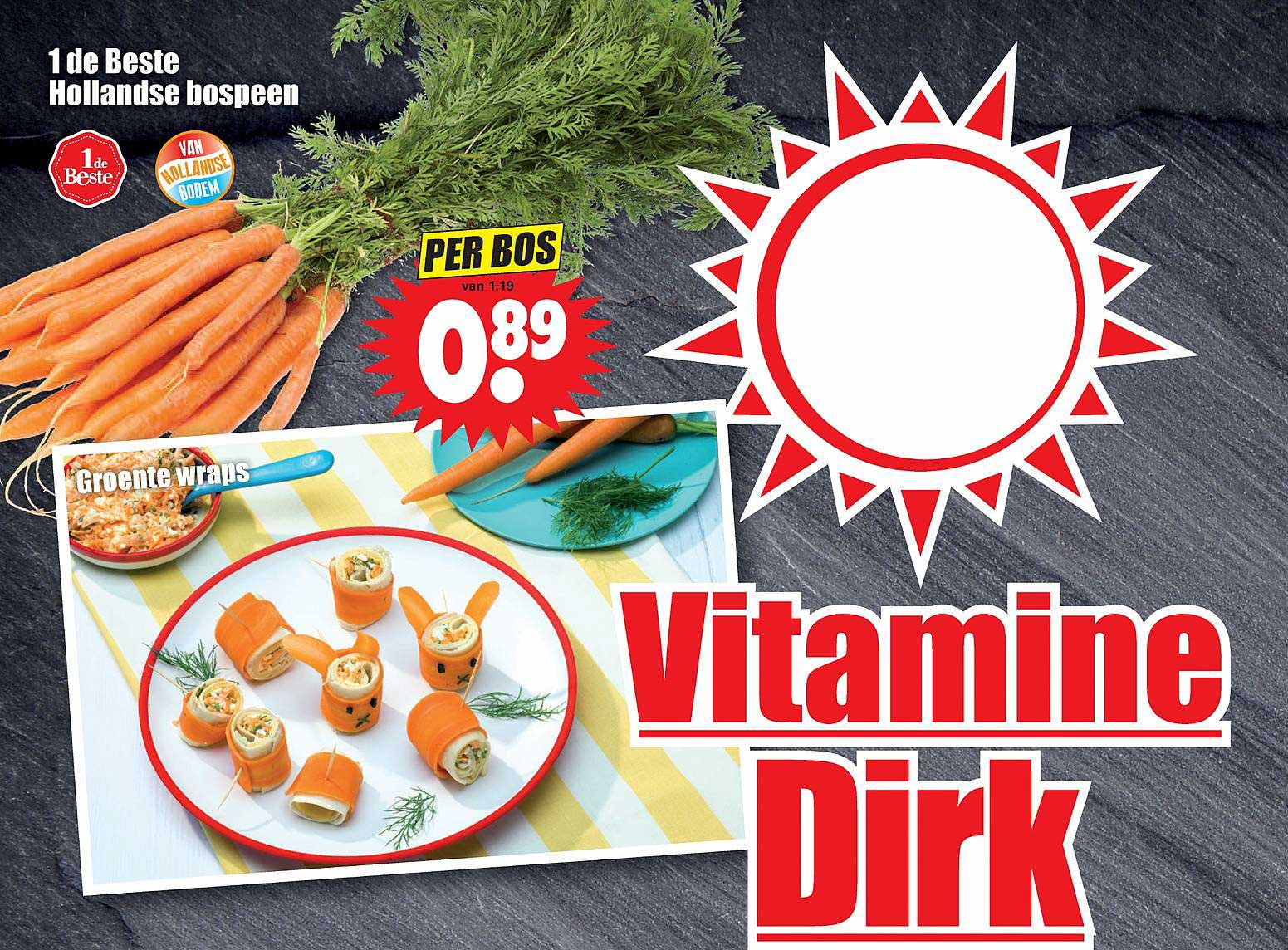 Dirk 1 De Beste Hollandse Bospeen