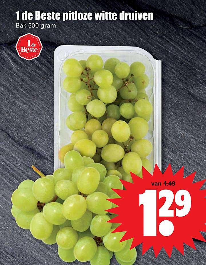 Dirk 1 De Beste Pitloze Witte Druiven