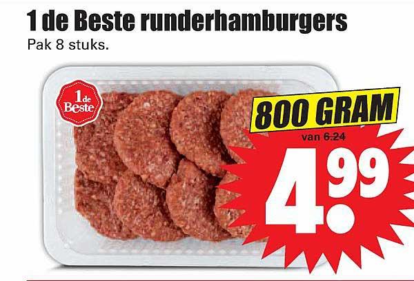 Dirk 1 De Beste Runderhamburgers