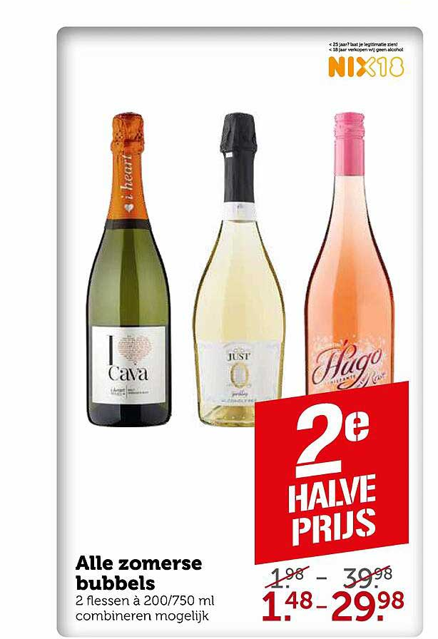 Coop Alle Zomerse Bubbels