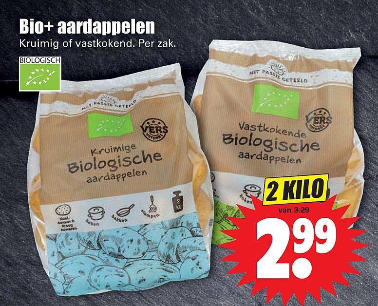 Dirk Bio+ Aardappelen Kruimig Of Vastkokend