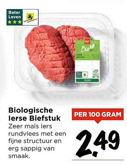 Vomar Biologische Ierse Biefstuk