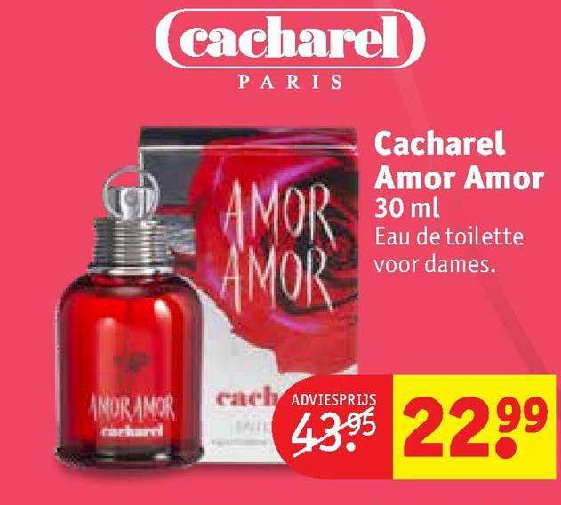 Kruidvat Cacharel Amor Amor 30 Ml Eau De Toilette Voor Dames