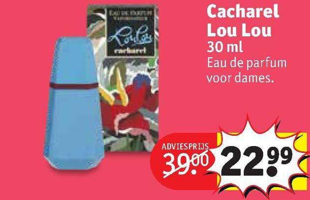Kruidvat Cacharel Lou Lou 30 Ml Eau De Parfum Voor Dames