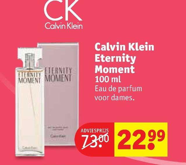 Kruidvat Calvin Klein Eternity Moment 100 Ml Eau De Parfum Voor Dames